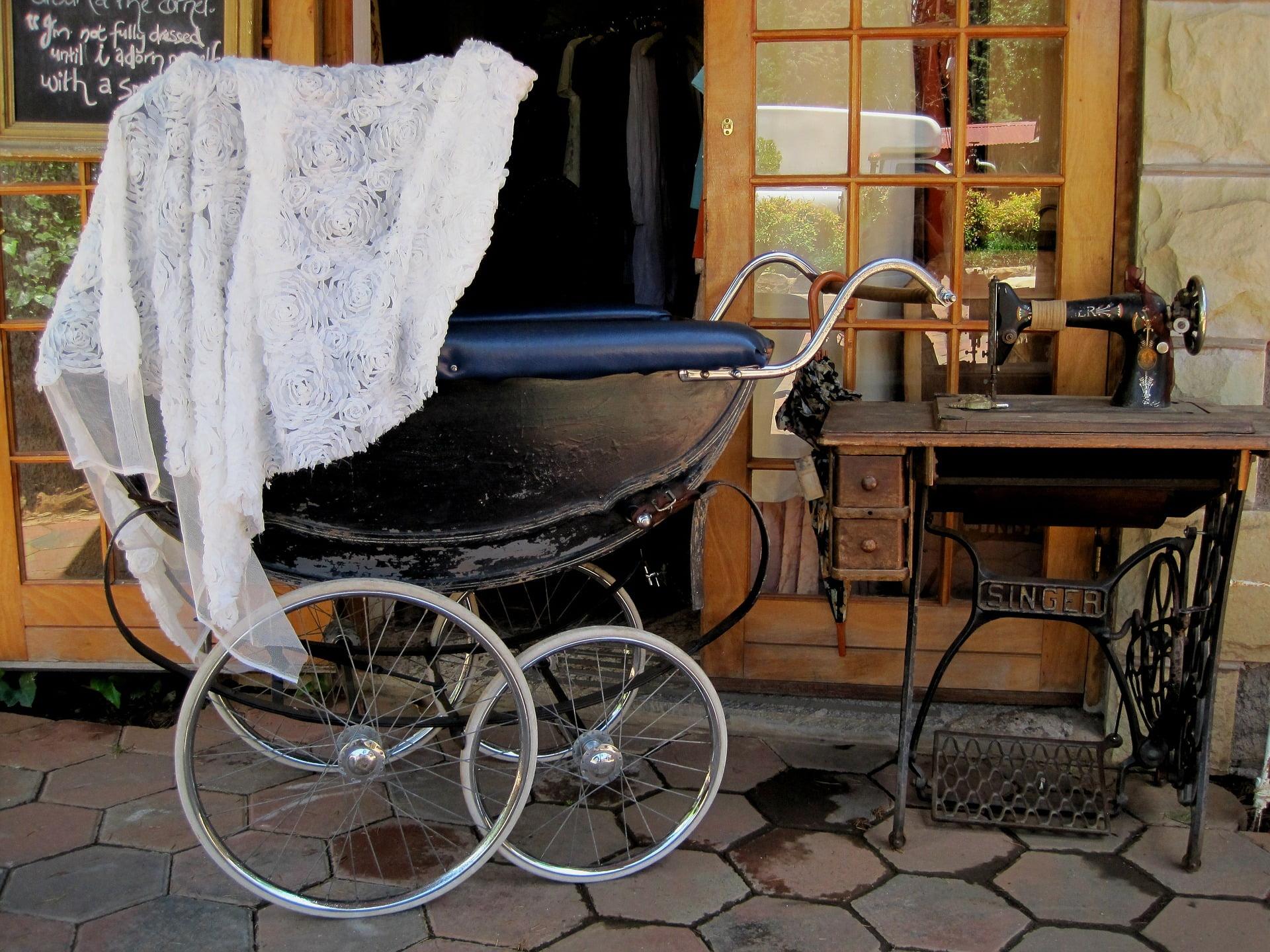 Wózek retro