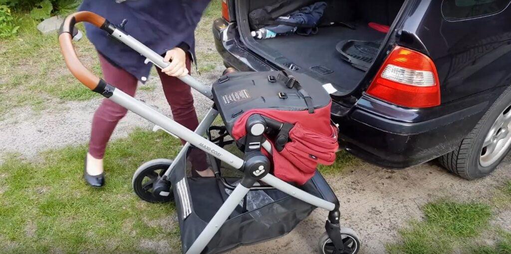 Składanie i kompaktowość wózka Maxi-Cosi Zelia – Iza testuje!