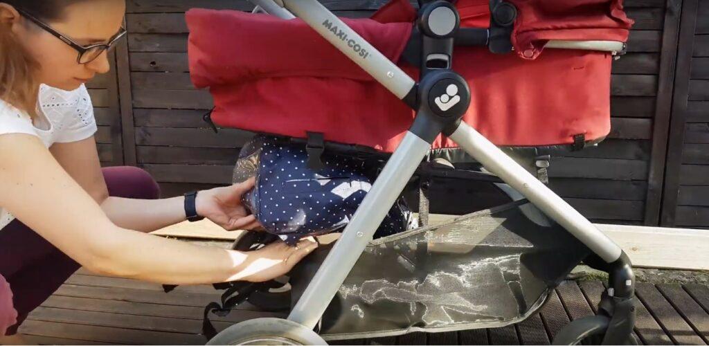 Kosz w wózku Maxi-Cosi Zelia – Iza testuje