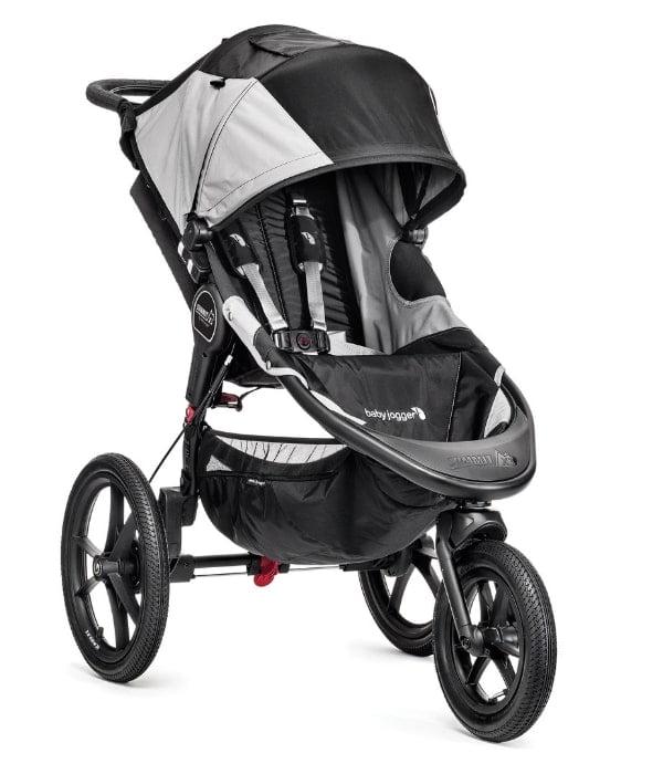 Baby Jogger Summit X3 to przykład wózka biegowego, który ma funkcję blokady przedniego koła
