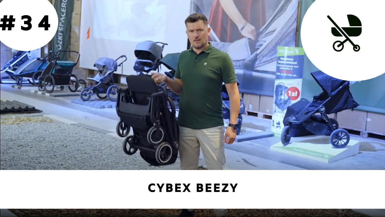 Spacerówka Cybex Beezy z amortyzacją na 4 koła!