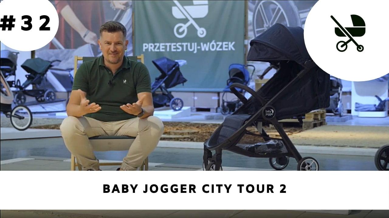 Wózek spacerowy Baby Jogger City Tour 2 - kompaktowa i lekka spacerówka