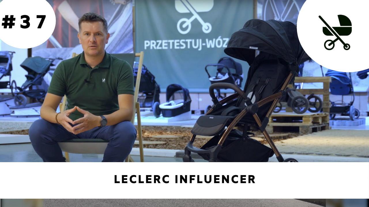 Lekki wózek spacerowy Leclerc Influencer - moja opinia!
