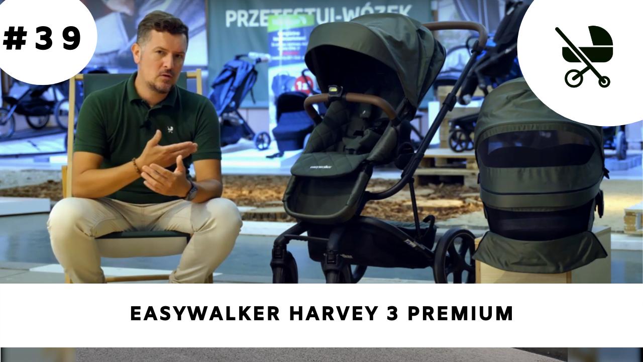 Wózek głęboko-spacerowy Easywalker Harvey 3 - moja opinia!